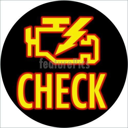 Check Engine Light Logo