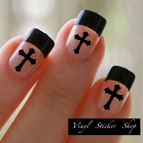 9 Christian Nail Designs Images Christian Fish Nail Art Religious