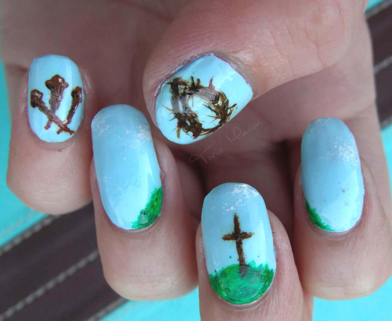 Easter Nail Art Designs