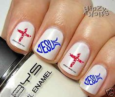 9 Christian Nail Designs Images