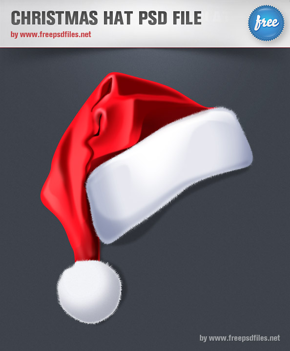 Christmas Hat PSD