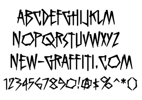 Crazy Graffiti Letters Fonts