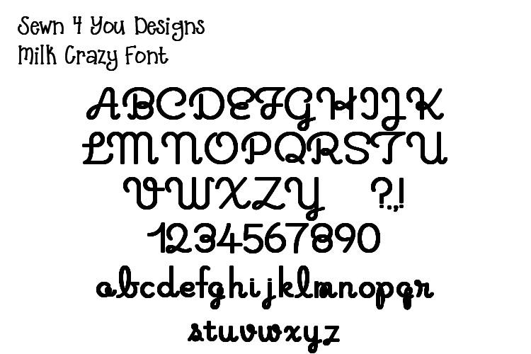 Crazy Letter Fonts