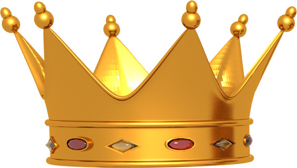 8 King Crown PSD Images