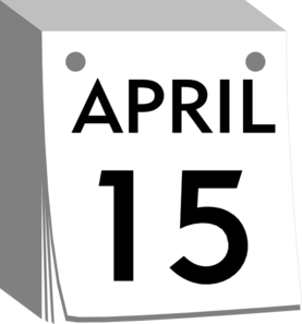 Daily Calendar Clip Art