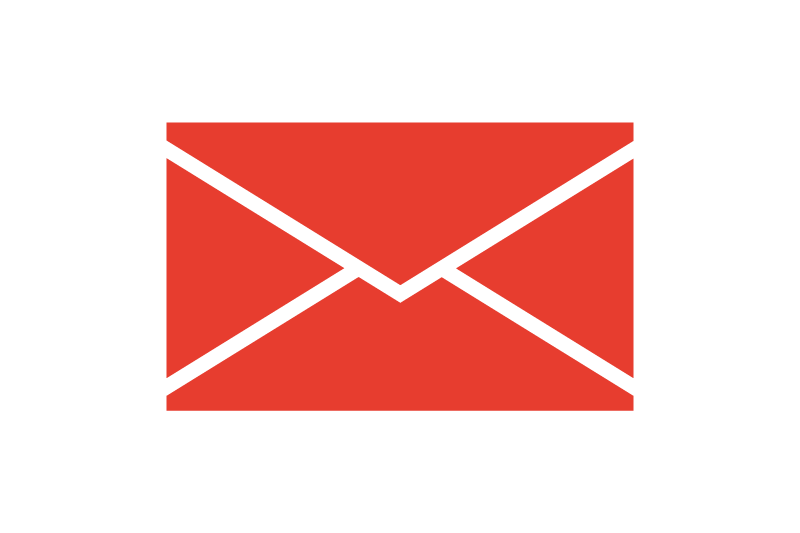 11 Red Mail Icon Images