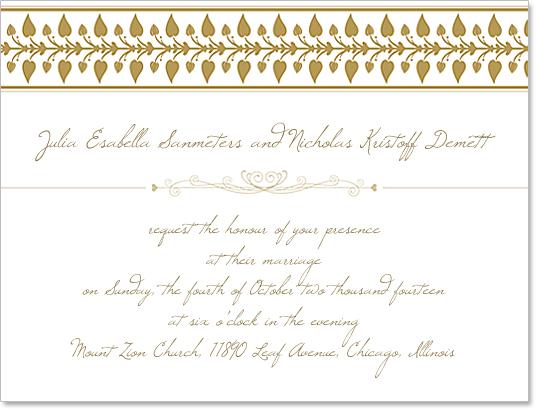 Download Free Wedding Invitation Design Template