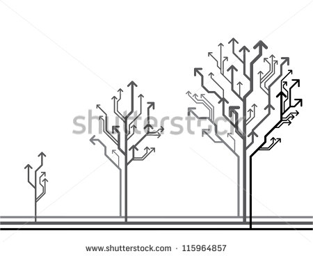 Drawing Tree Growth Stage