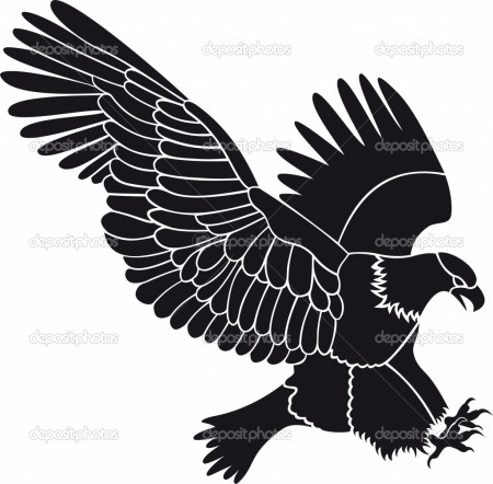 Eagle Silhouette Clip Art