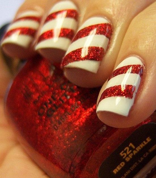 9 Easy Christmas Nail Designs Images Christmas Santa Nails Easy Christmas Nail Art Design And Easy Christmas Nail Art Newdesignfile Com