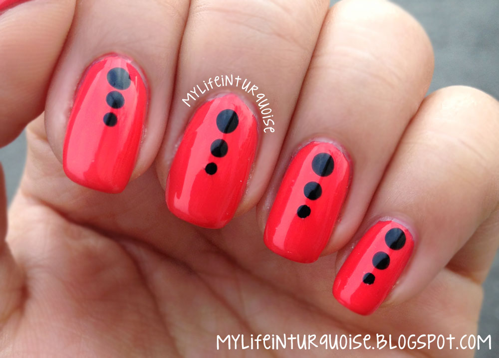 14 Really Easy To Do At Home Nail Designs Images Easy Nail Art
