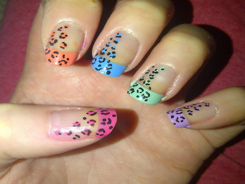 14 really easy to do at home nail designs images easy nail art designs at home easy fun casts - Easy nail design ideas to do at home ...