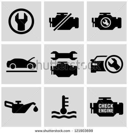 Engine Dashboard Icons