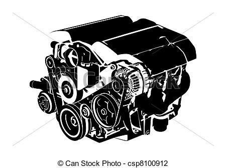 Engine Vector Art