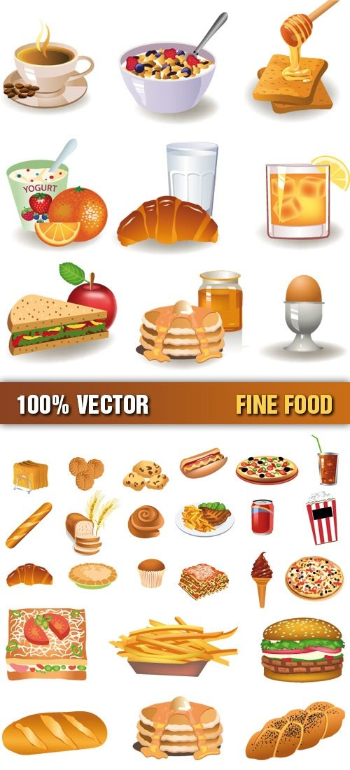 Food Vector Graphics