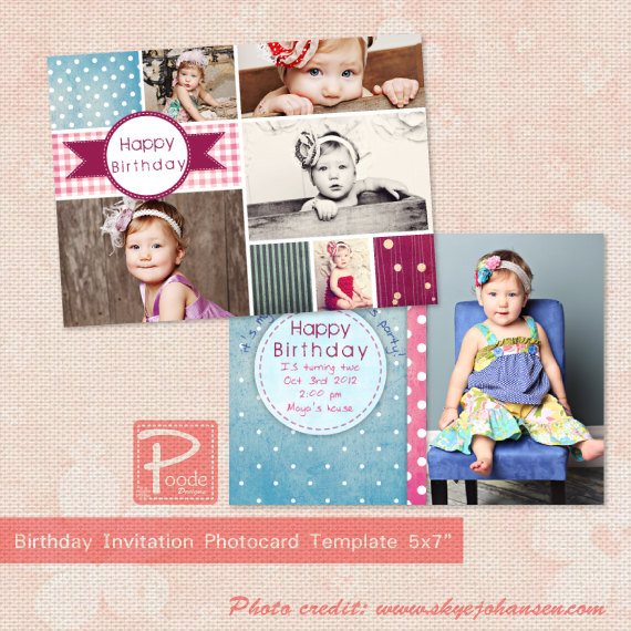 Free Birthday Invitation PSD Templates