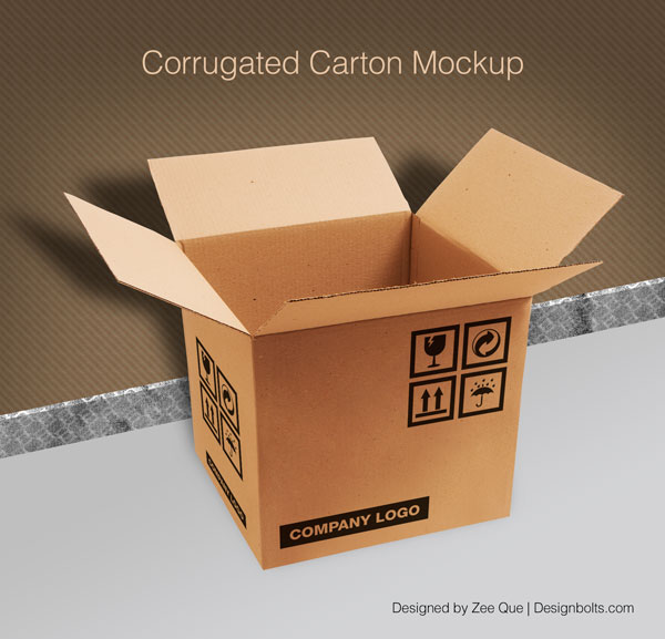 13 Carton PSD Mock Up Images