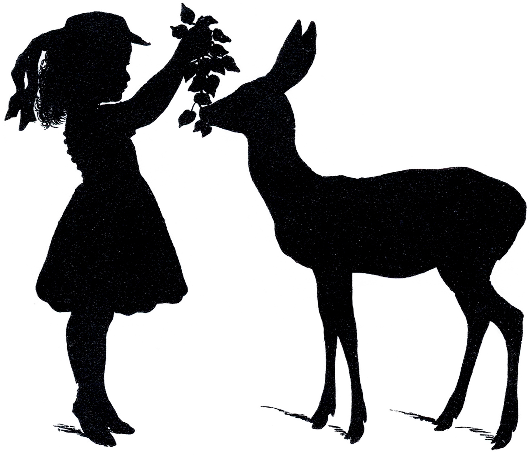Free Deer Silhouette