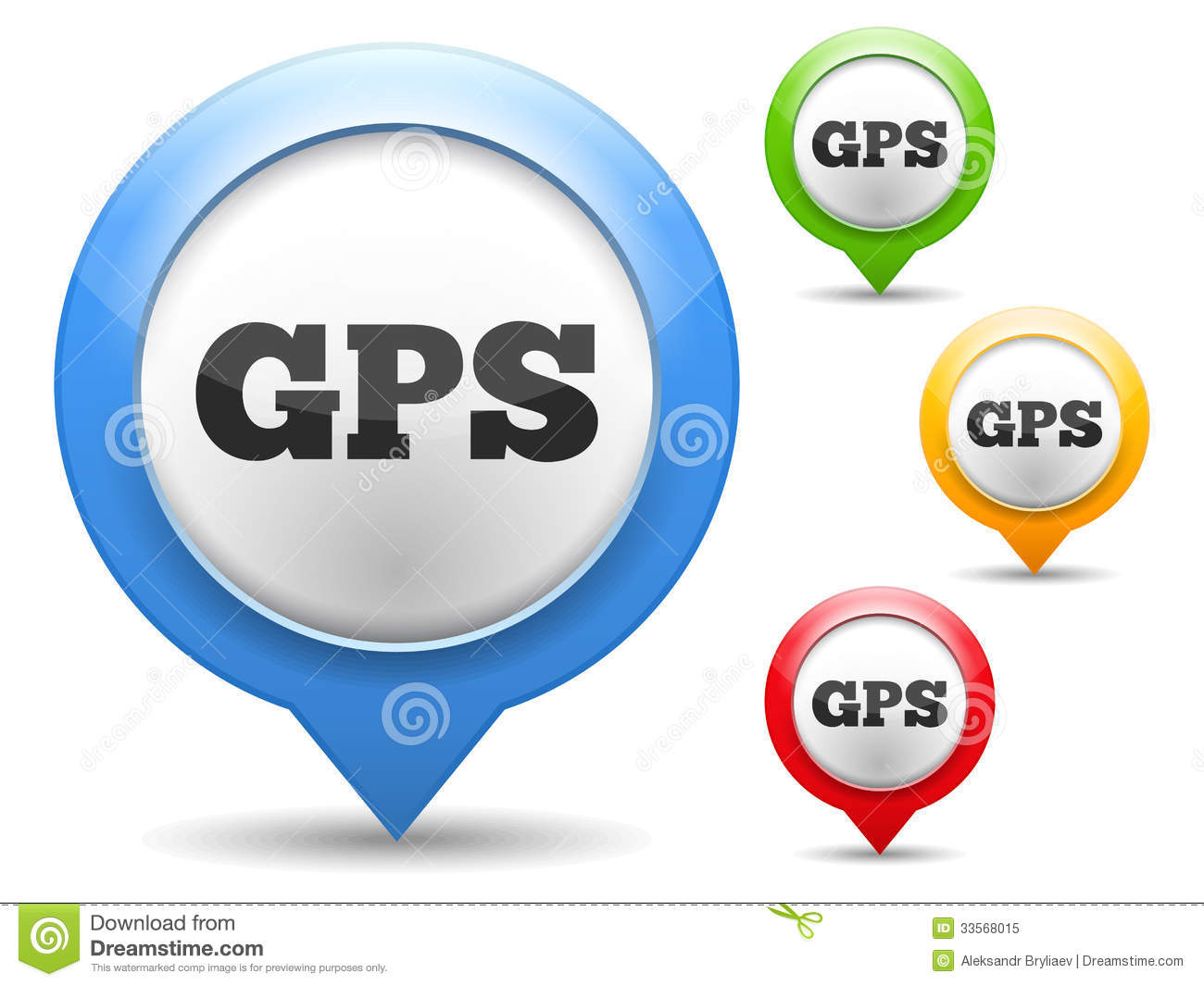 9 GPS Icon Vector Free Images