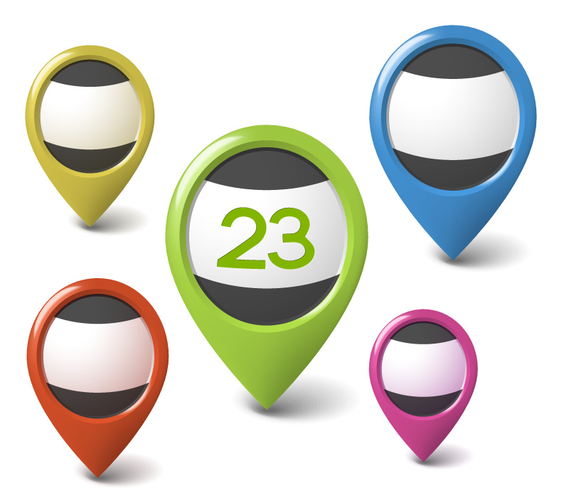 Free GPS Vector Icons