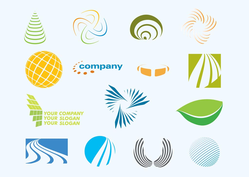 10 Free Vector Shapes Logo Images