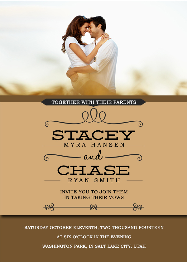 14 Free Wedding Invitation PSD Template Images
