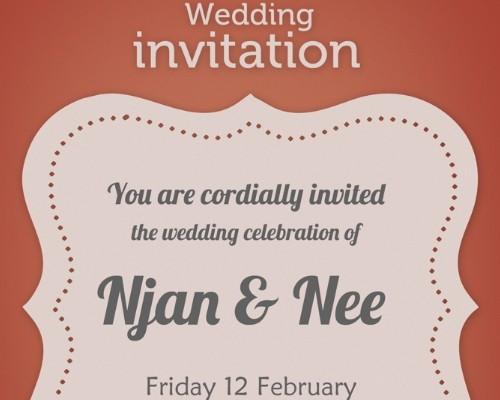 Free Photoshop Wedding Templates Invitations