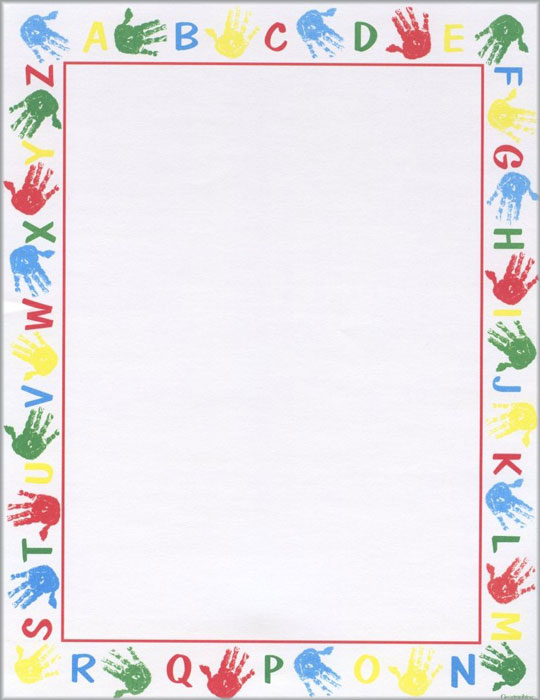 Free Printable Paper Border Designs