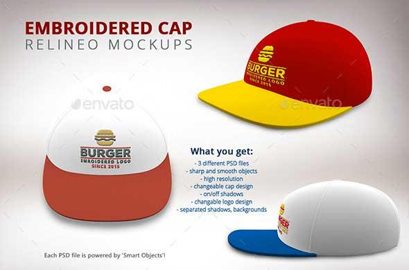 Free Psd Mock Up Snapback Hat