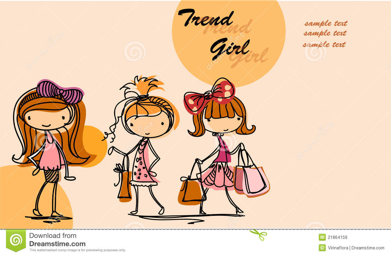 Free Vector Girl Cartoons