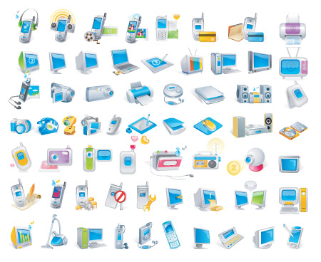 19 Tech Icons Free Images