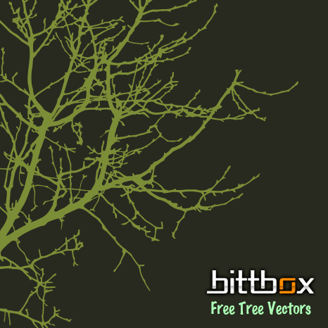 Free Vector Tree Branch Silhouettes