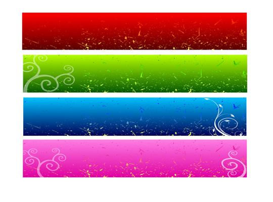 Free Web Page Banners