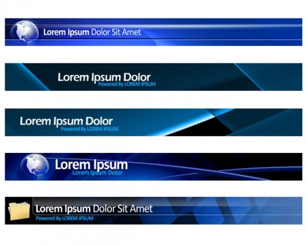 15 Download Free PSD Web Banners Images