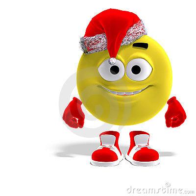 Funny Christmas Emoticons