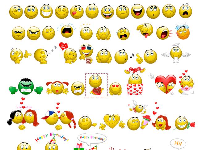 Funny Smiley Emoticons