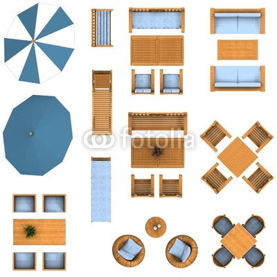 Post_tables And Chairs Vector Plan View_150703 on Plan View Furniture Clip Art