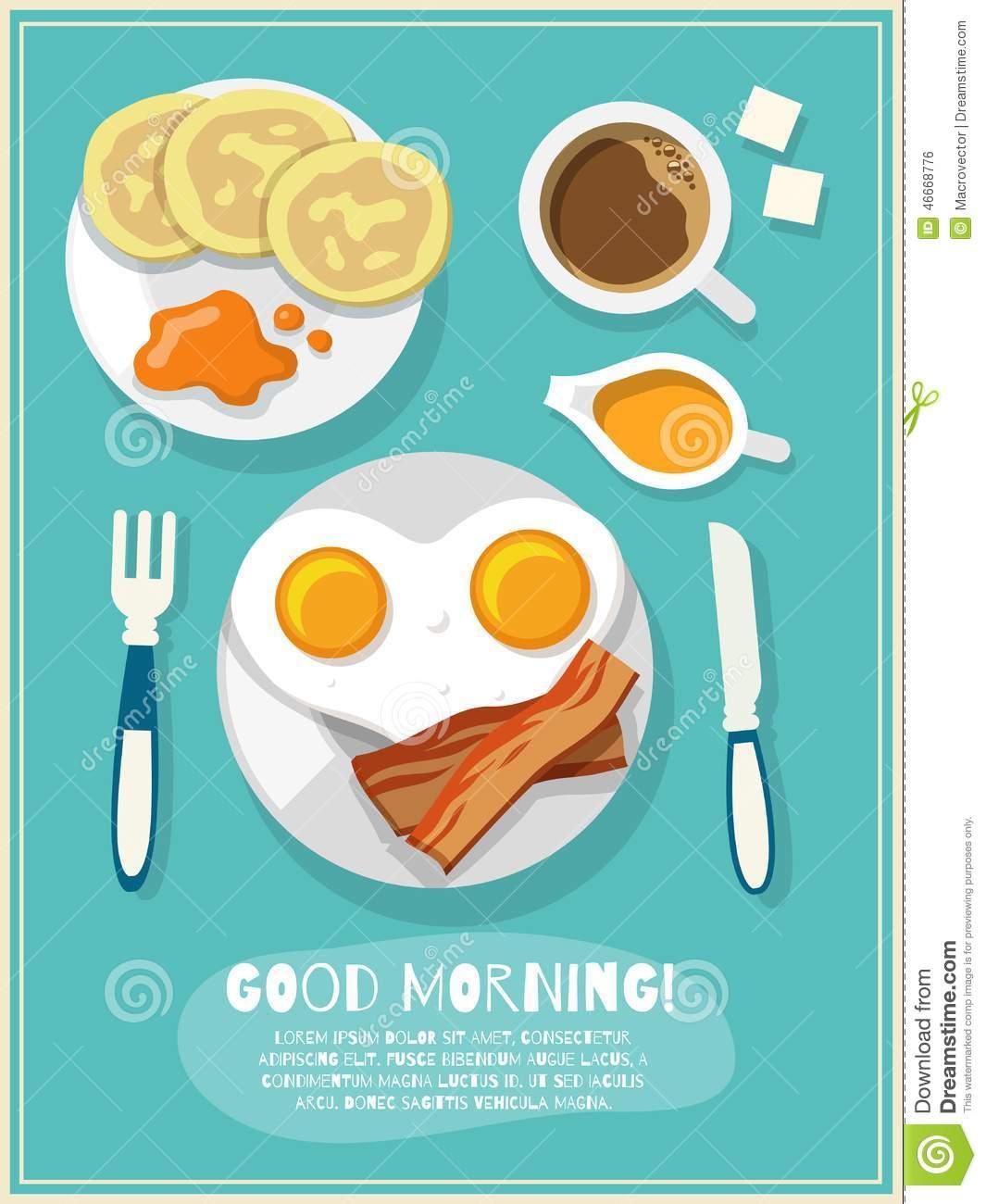 Good Morning Coffee Breakfast