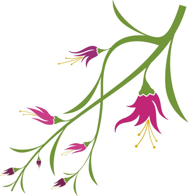 Graphic Flower Vector Free Download
