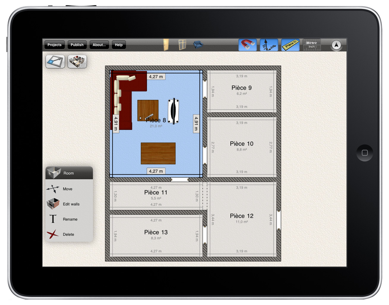 Home Design Software for iPad