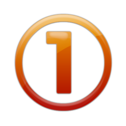 10 Clear Number 1 Psd Images Google Search Image Of Orange Number 1 Icon And Number Icon Transparent Newdesignfile Com