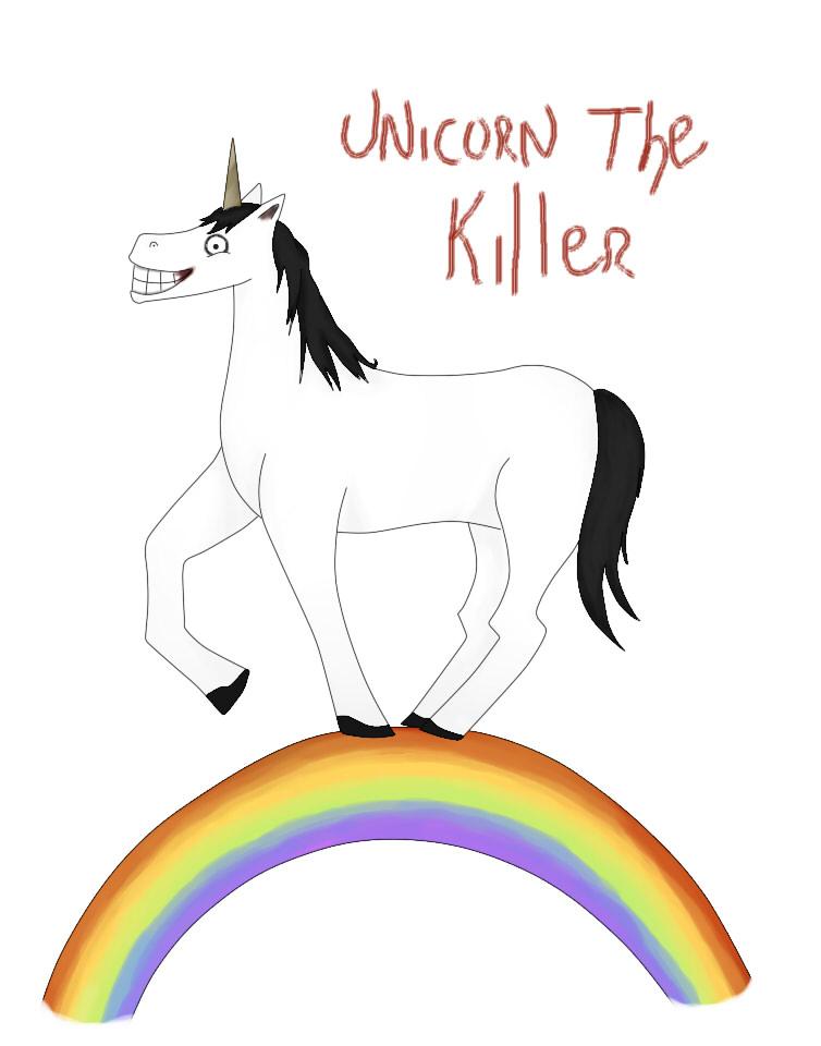 Killer Unicorn Backround