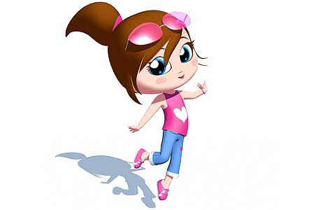 Little Girl Cartoon Characters