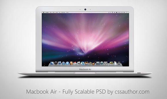 14 MacBook PSD Mockup Images