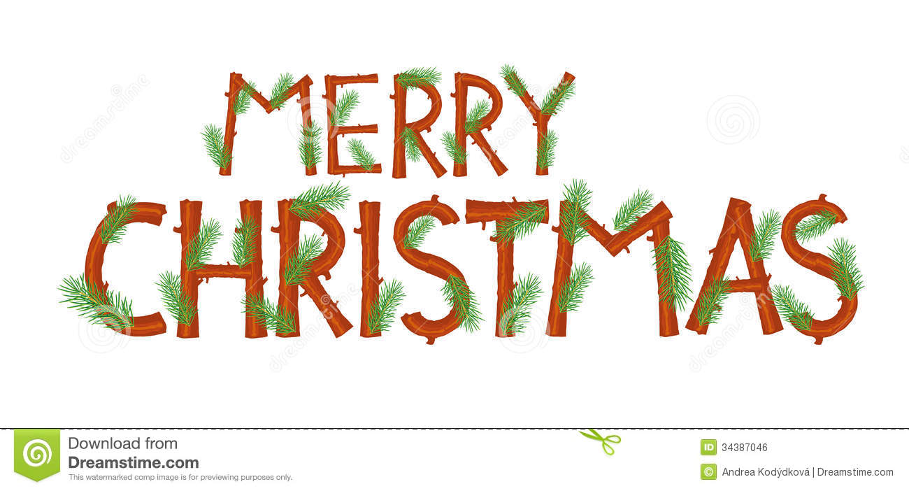 9 Merry Christmas Font Images