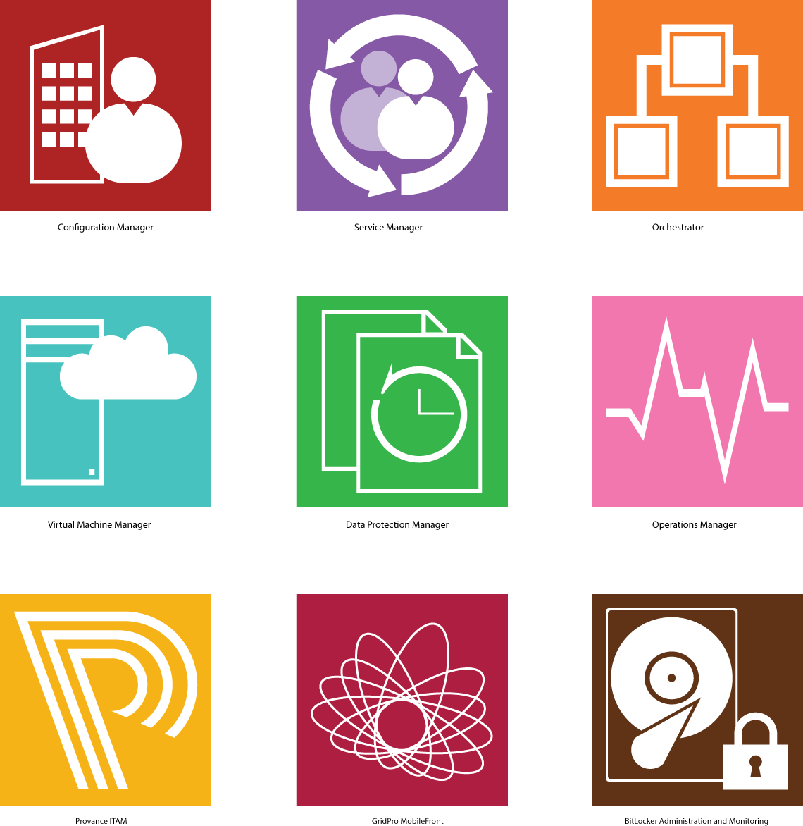 Microsoft System Center 2012 Icon