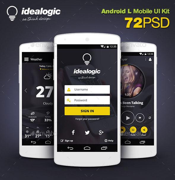 11 mobile app design template psd images mobile app design templates mobile app login screen. Black Bedroom Furniture Sets. Home Design Ideas