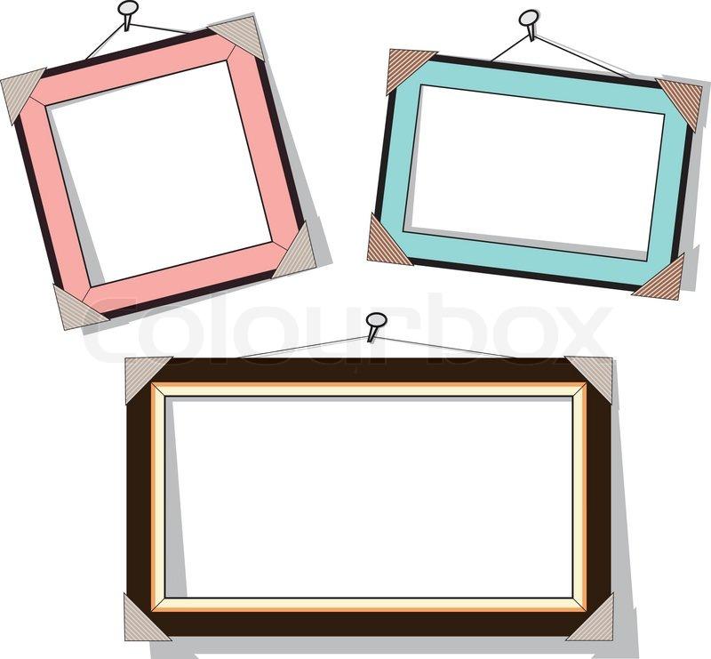 Modern Frame Vector
