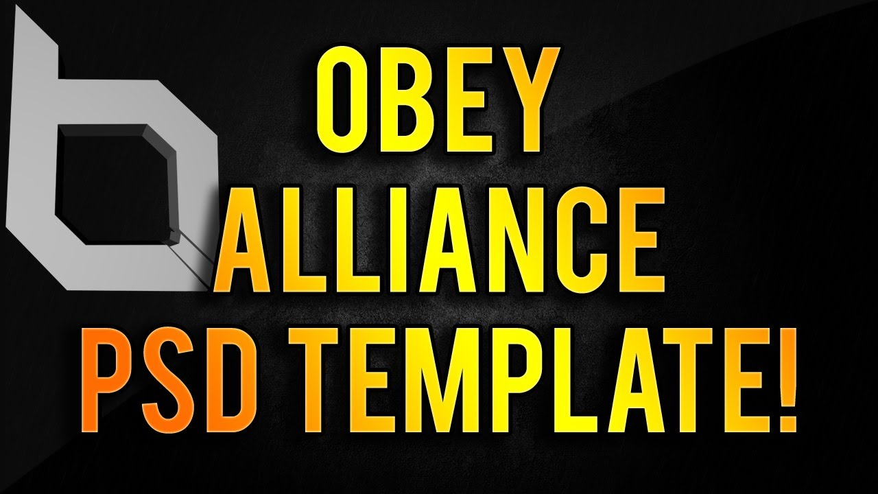 5 Obey Alliance Logo PSD Images