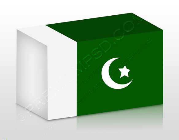 Pakistan Flag 3D